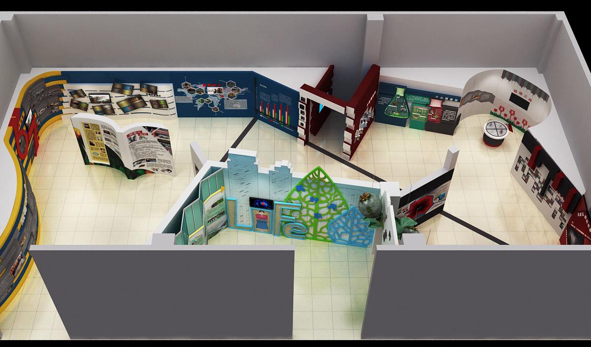 安次安全体验禁毒教育馆整体方案