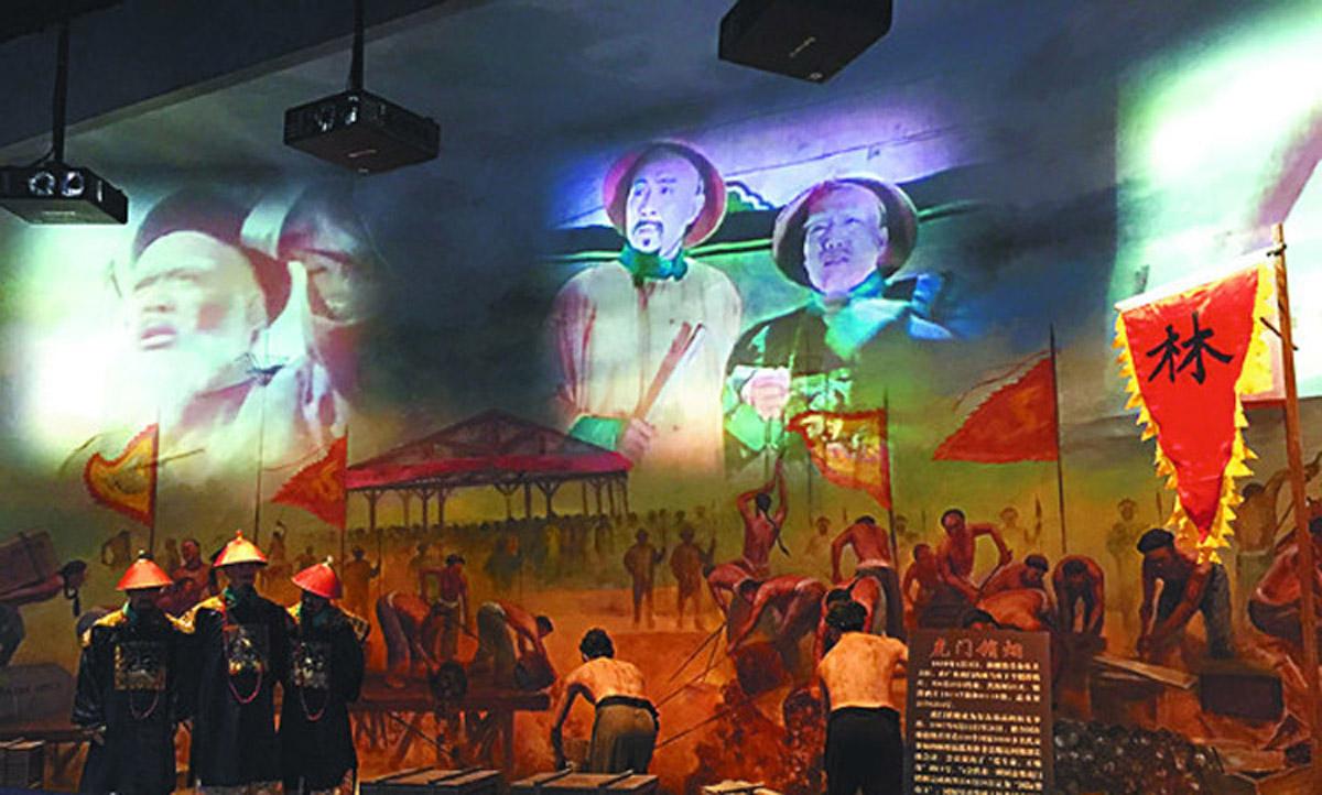 万宁安全体验声光电结合禁毒教育展览馆