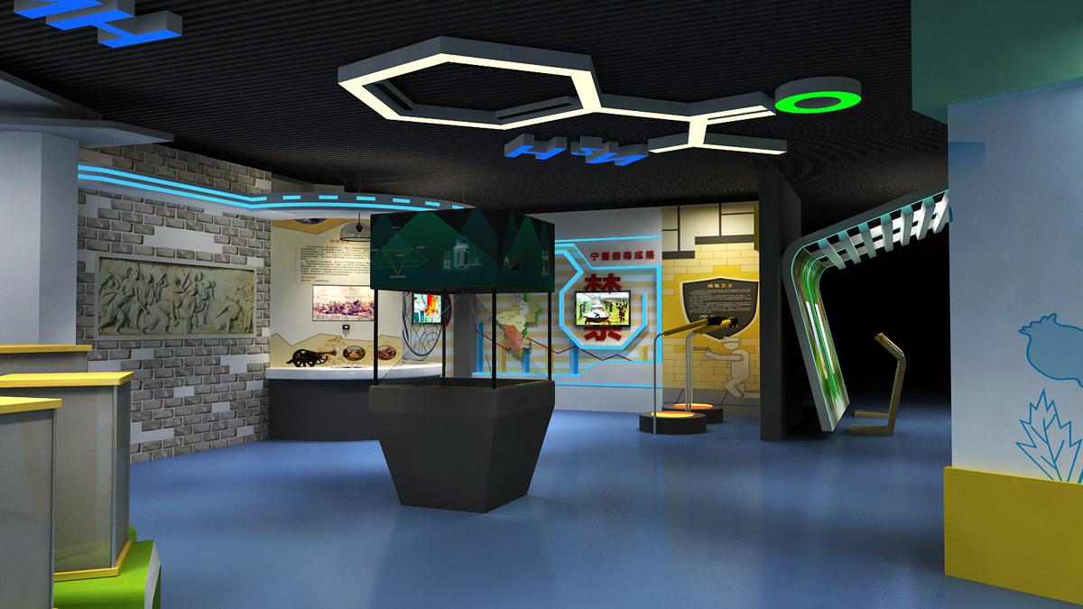 仁寿安全体验3D互动数字仿真禁毒教育馆