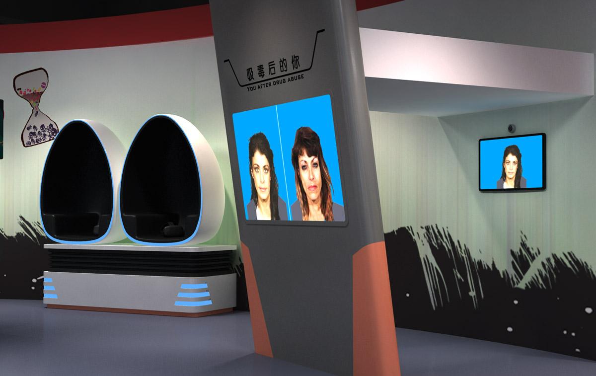 高平安全体验VR毒驾蛋椅