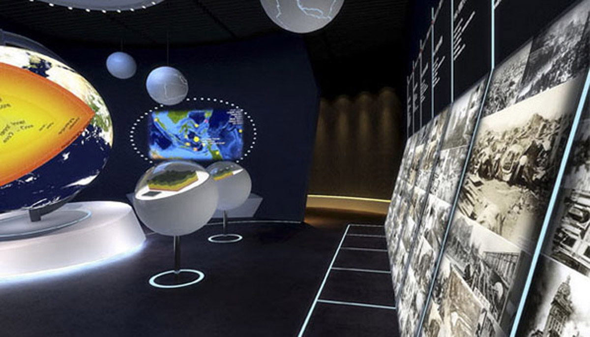 深泽安全体验互动体验馆设计