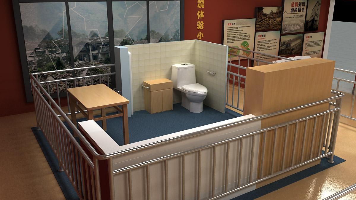 渝北安全体验地震小屋