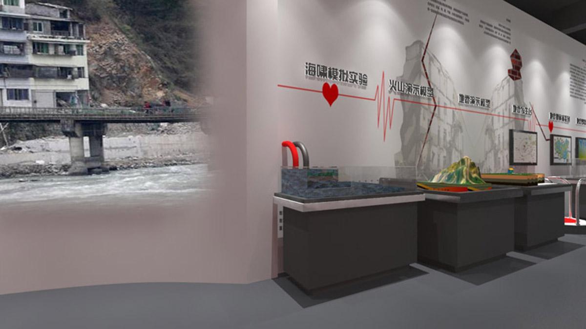 双桥安全体验海啸演示模型