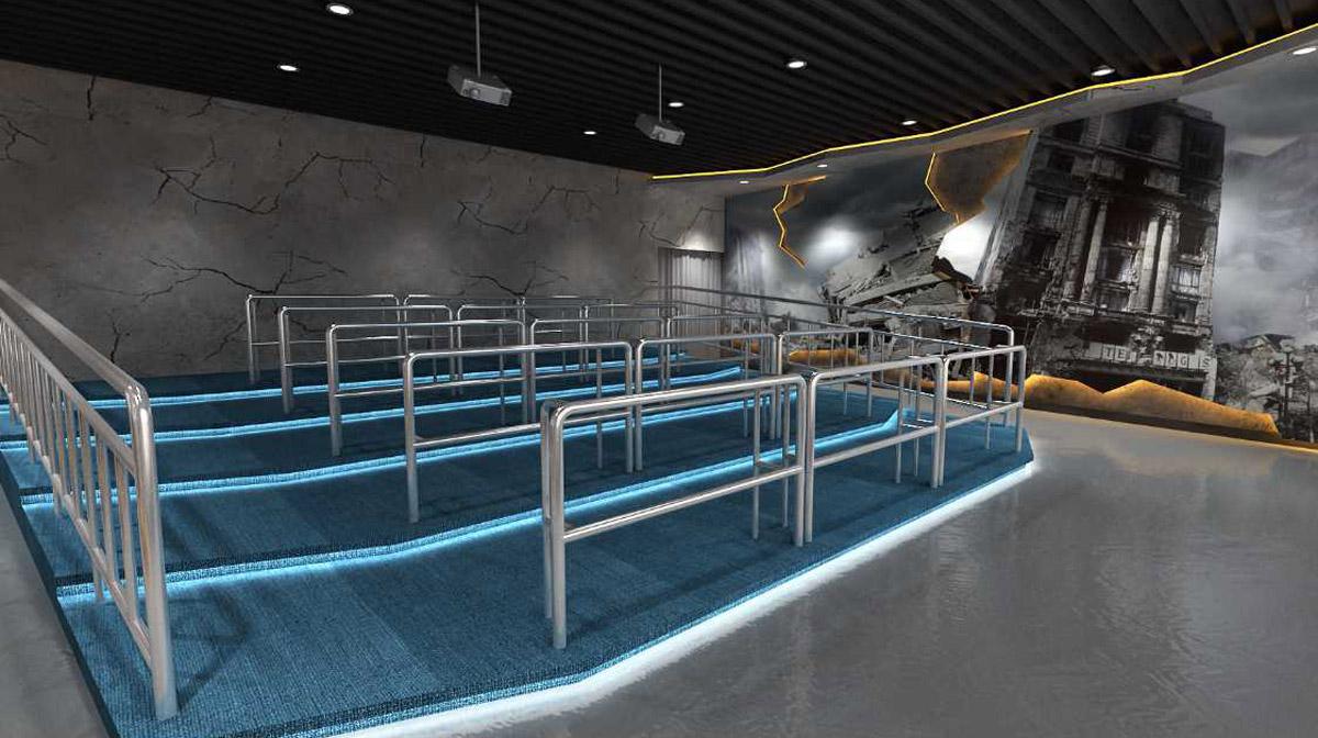 运河安全体验VR台风飓风模拟体验馆