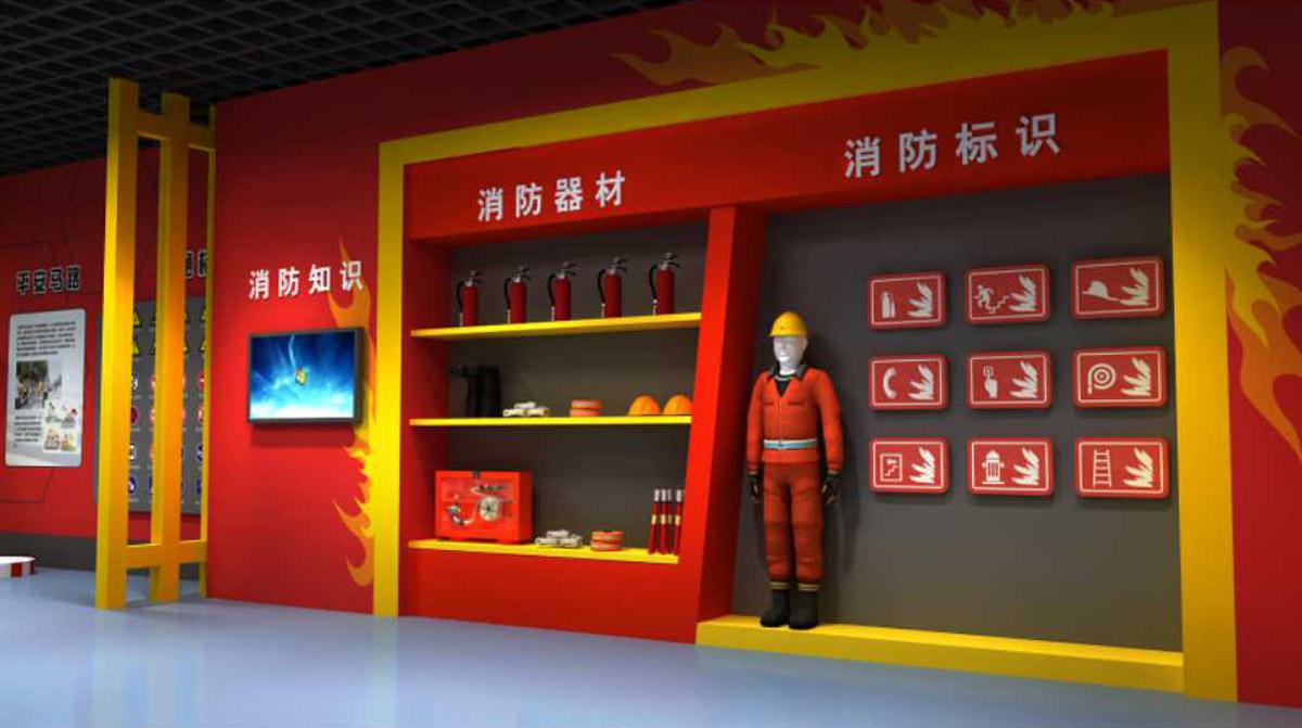 普格安全体验消火栓灭火演练装置