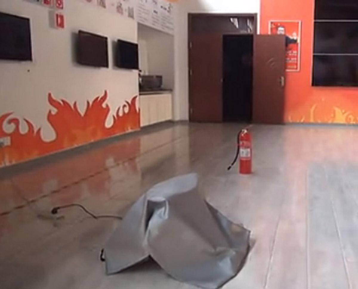 金阳安全体验油锅火灾灭火演练装置