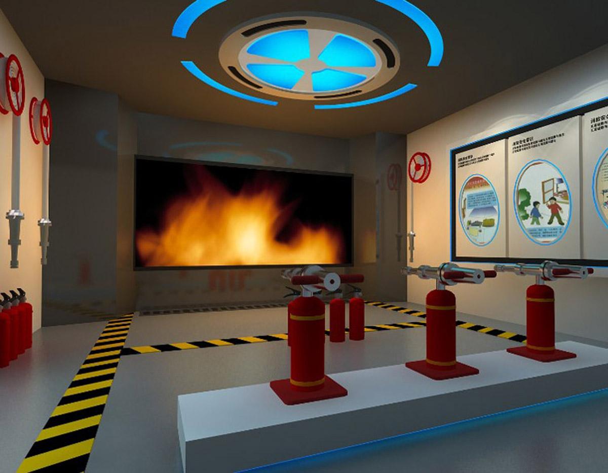 石渠安全体验模拟灭火
