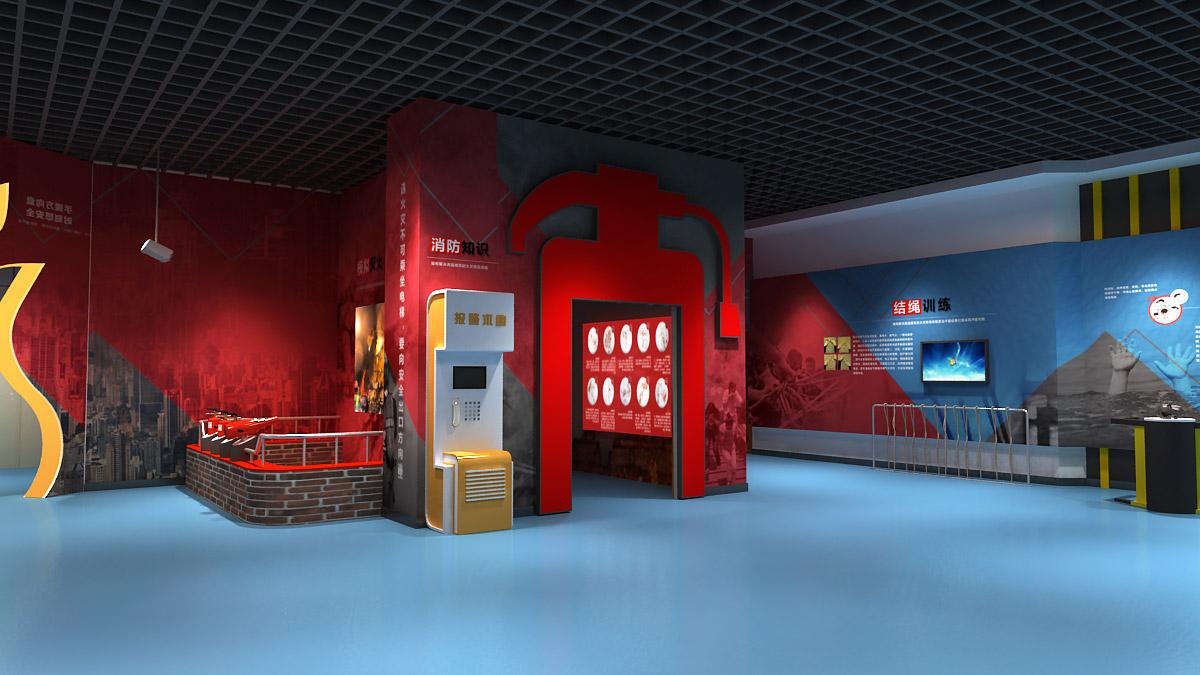 深泽安全体验消防体验馆整体方案