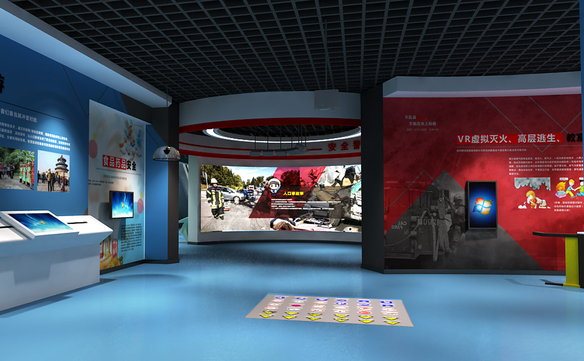 长寿安全体验VR消防逃生模拟系统