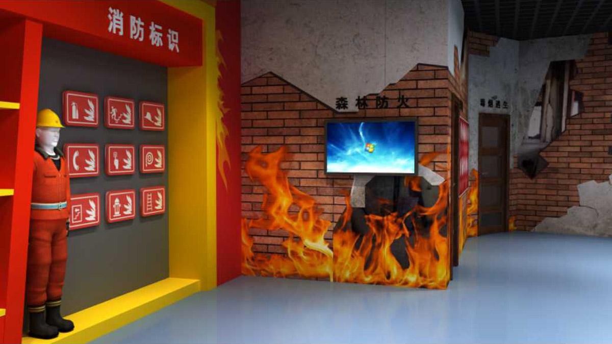 安全体验模拟灭火考试系统