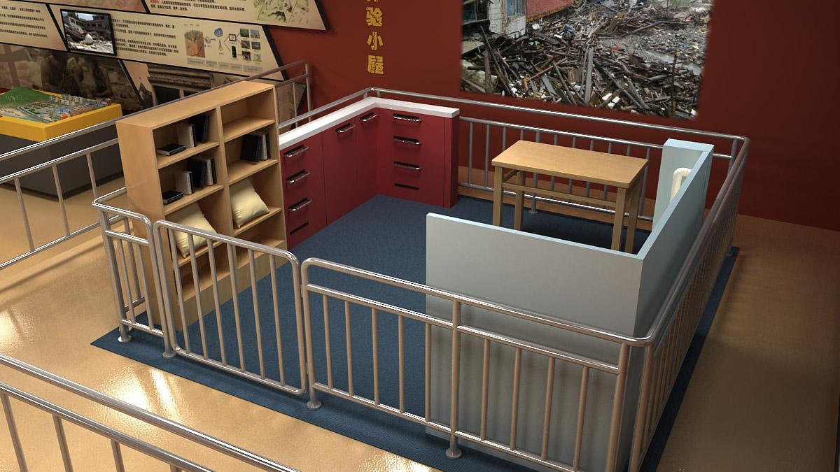 成安安全体验小型校园地震模拟平台