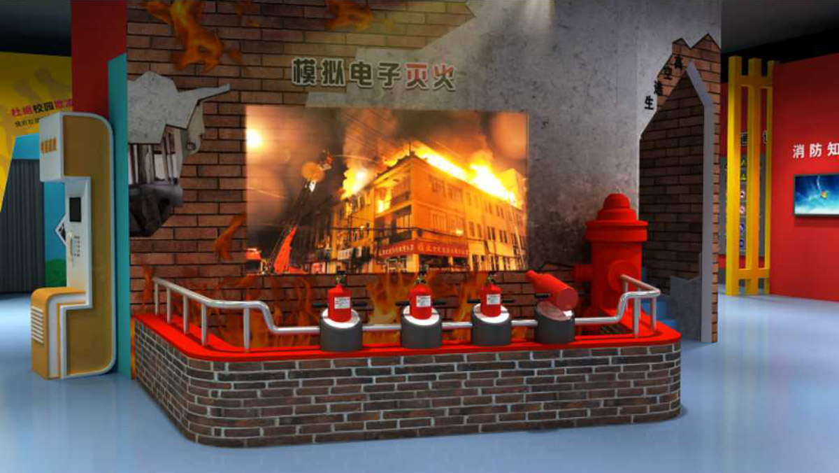 行唐安全体验模拟灭火体验