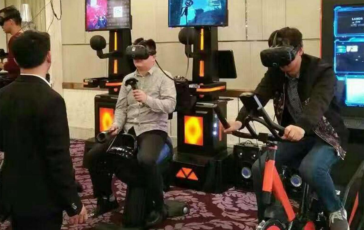 东丽安全体验VR赛马