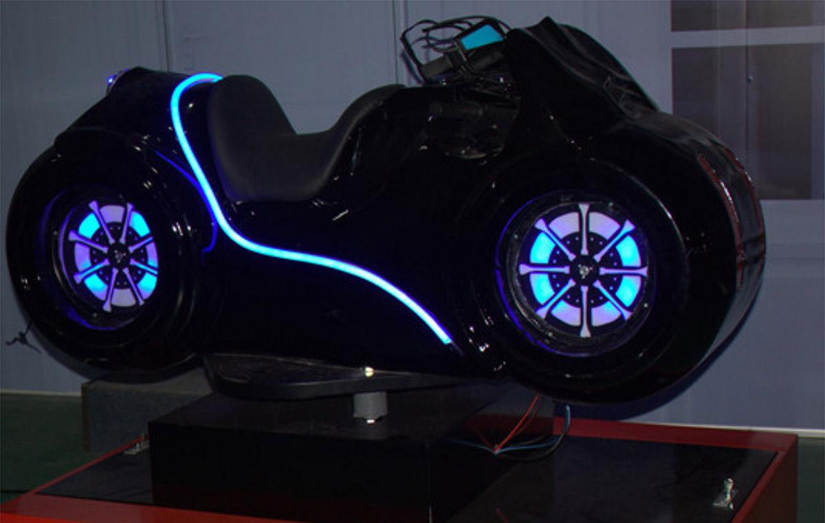 赤城安全体验VR摩托车