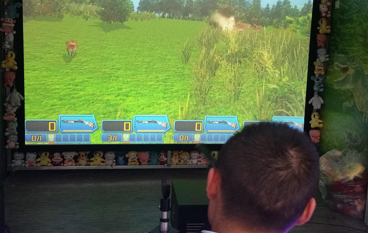 高平安全体验疯狂狩猎游戏